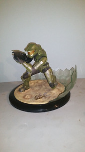 Halo 3 Master Chief Field Of Battle Ultra Detail Statue