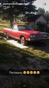 LOOKING FOR PARTS FOR MY 69 FORD RANCHERO
