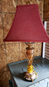 End table lamp