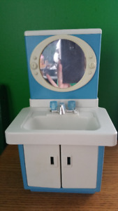 Vintage Barbie Bathroom sink