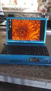 Sony Vaio Limited Edition Blue Laptop