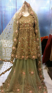 Bridal wear and party wear