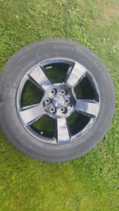 Factory GMC 20 inch Wheels + Tires