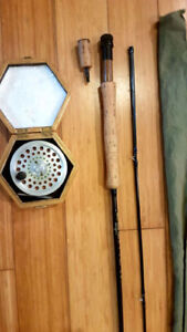 Fly Rod And Reel Combo