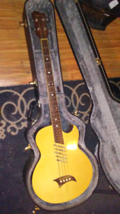 Acoustic Electric 4 String Bass Guitar