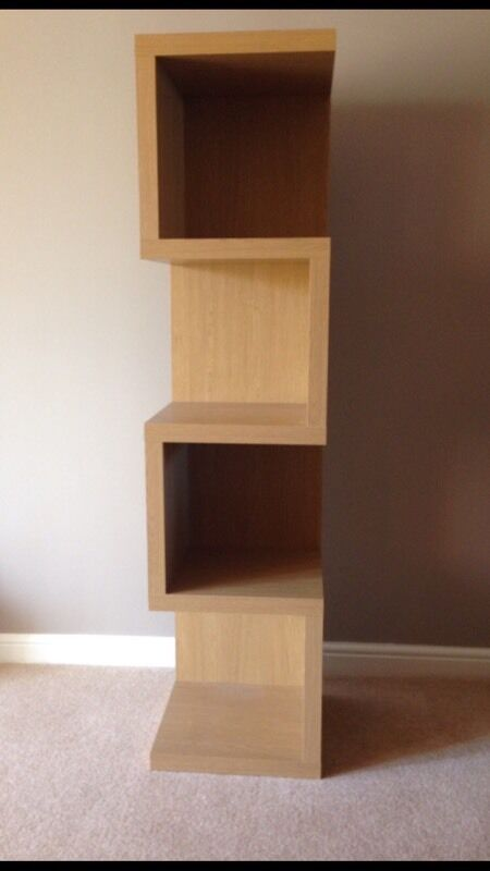 Opus Oak Next Shelf Unit In Bramley South Yorkshire