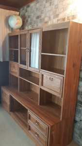Entertainment/Bookcase Unit