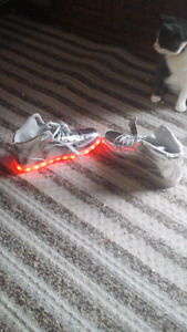 High top light up running shoes never worn brand new size 12