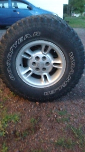 Rims and/or tires for sale