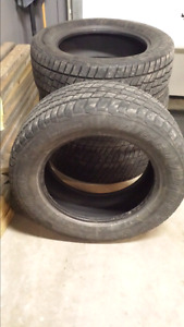 4 used cooper tires 275/60R20