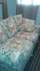 Clean and very comfortable  love seat