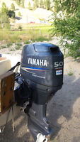 4 stroke 50 hp yamaha with only 5 hrs on it