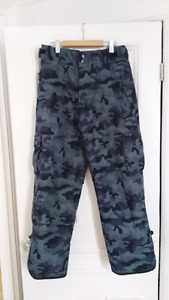 Mens Medium NEW snowpants