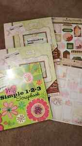 Scrapbooking paper over 500 sheets