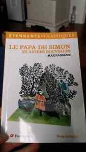 Cégep Le papa de Simon et autres nouvelles, Maupassant (Cégep)