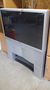 Tv and tv wall unit for sale