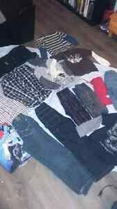 Large Lot boys  sz 7+8 brand name all for 30$ some new Kingston Kingston Area image 1