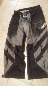 """Fly"" professional motorcross pants $100"