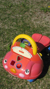 MULTIPLE TOYS EASELS, TRUCK, LAWNMOWER, WALKER, ACTIVITY TABLE Peterborough Peterborough Area image 4