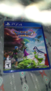 Dragon quest xi ps4 for sale or trade