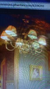 Chandelier lustre