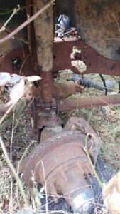 1989 F250 4x4 axles