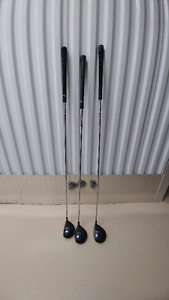 Top Flite LH driver, fairway woods