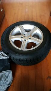 Winter Tires 4x4  Excellent ConditioN Rims Dodge, Chrysler