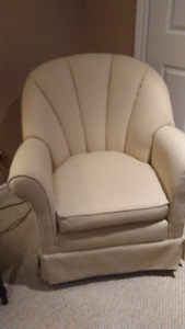 Upholstered Chair - $75 or Best Offer