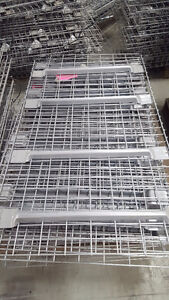 Grillages pour rack. Grilles for pallet racking presque neuf Kitchener / Waterloo Kitchener Area image 1