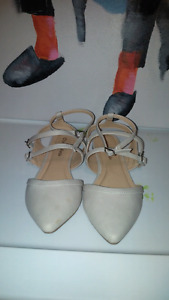 Barely Worn Pointed Toed Sandles