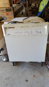 Kenmore In Counter Dishwasher