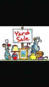 Oct 10 yard sale Wiley st 12-4pm