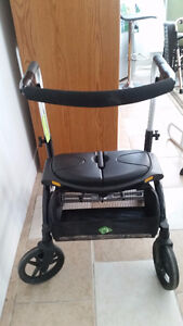 Rollator Medical Folding Walker with Wheels and Padded Seat Windsor Region Ontario image 5