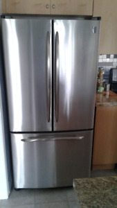GE Profile 3 sections, SS Refrigerator, 50% OFF