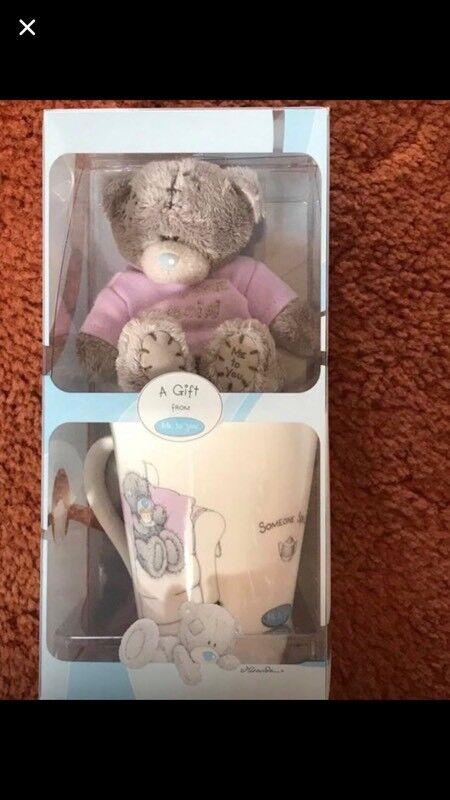 Someone special mug and teddy