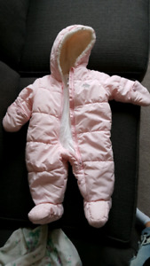 Winter Onesie 3-6 mo.