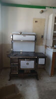 Old Climax Wood Stove