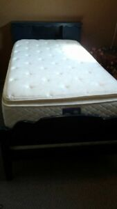 Bed Frame and Twin Bed Mattress