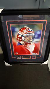 NHL Montreal  Patrick Roy autographed