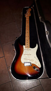 1999 Fender Strat USA With Original Shotgun Case Mint $850 Today
