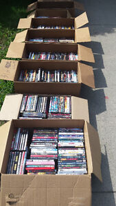 A Lot of DVDs