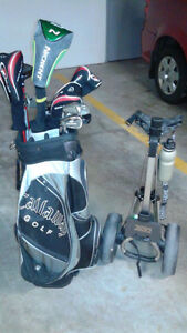 Tour Edition golf clubs .Left handed