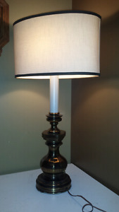 Grande lampe de table base metal base gorgeous lamp