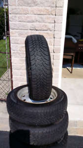 4 winter tires used 3 months