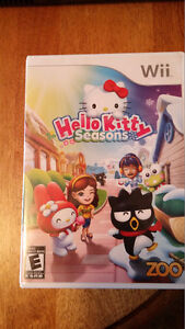 Hello Kitty Seasons Wii Game with Booklet- $5.00