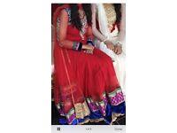 Wedding party dress size medium like new