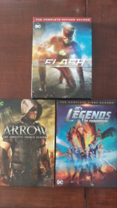 Arrow Saison 4,Flash Saison 2, Legends Saison 1
