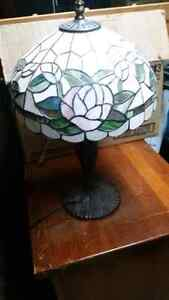 Stained glass Lamp (Sold)