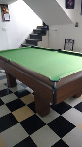 Slate Pool table 4x9. Dufferin.